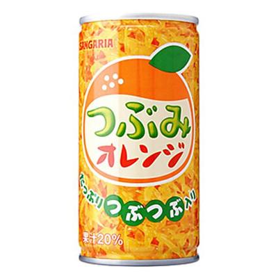 有樂町進口食品 sangaria香橙果粒飲料190ml J28 4902179007711