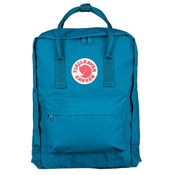 【鄉野情戶外專業】Fjallraven |瑞典| 小狐狸 Kanken Classic 經典背包/方型書包 方型背包/23510 《湖藍色》