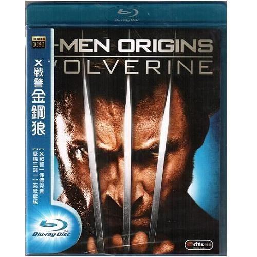 X戰警金鋼狼 藍光BD X-Men Origins Wolverine 凡赫辛休傑克曼MARVEL漫畫英雄(音樂影片購)