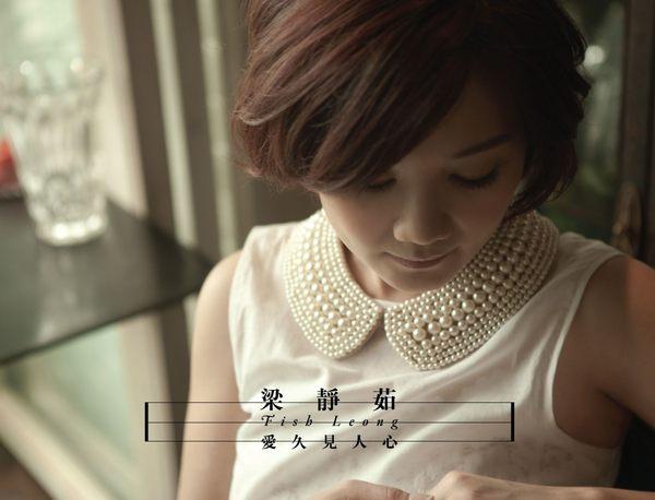 梁靜茹 愛久見人心 CD 正式版 Fish Leong情歌天后小愛情至少愛沒有人像你她會過去的一路兩個人