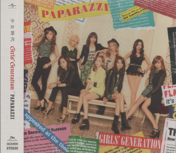 少女時代 PAPARAZZI 日文單曲 CD CD Girls' Generation MR.TAXI 第四張 太妍 徐玄 (音樂影片購)