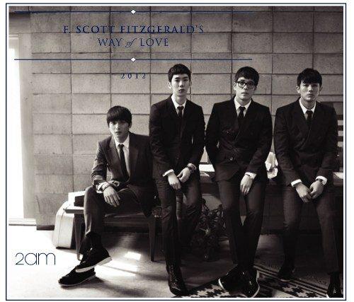 2AM 費茲傑羅式的愛情 訪華特別盤 CD附DVD (音樂影片購)