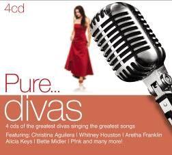 純天后 4CD Pure… Divas 惠妮休士頓 克莉絲汀 One Moment In Time Beautiful Love Song (音樂影片購)