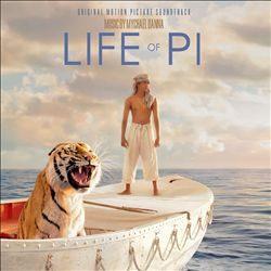 少年Pi的奇幻漂流 電影原聲帶 CD (音樂影片購)