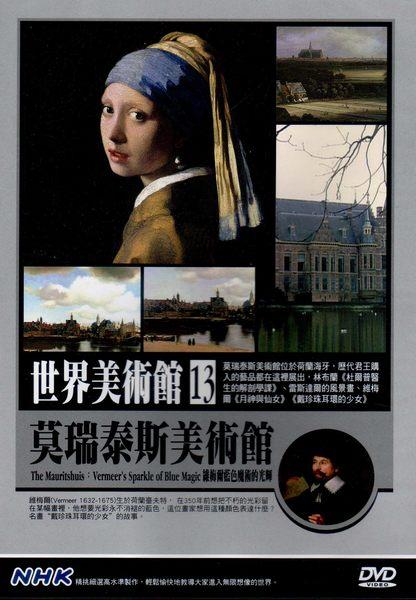 世界美術館 13 莫瑞泰斯美術館 DVD 維梅爾藍色魔術的光輝 NHK (音樂影片購)