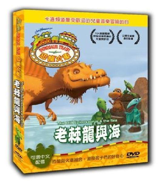恐龍火車 老棘龍與海 DVD 暴龍 翼手龍 劍龍 侏羅紀 白堊紀 三疊紀 卡通頻道 (音樂影片購)