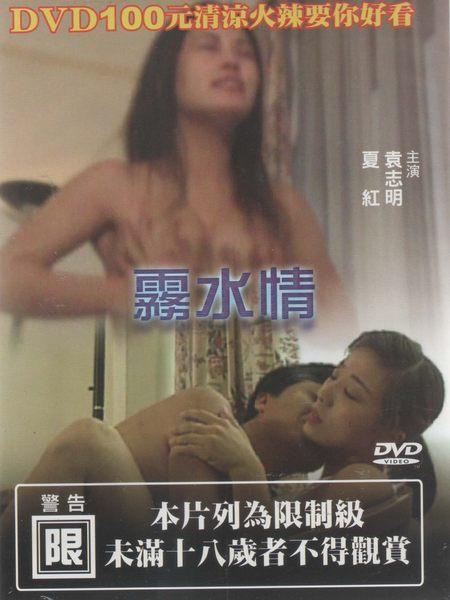 霧水情 DVD 成人電影系列限制級袁志明夏紅陳建一甘露鞏麗李建興經商 (音樂影片購)