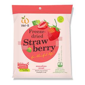 Wel.B 草莓鮮果乾 22g 小包 Wel B 水果乾