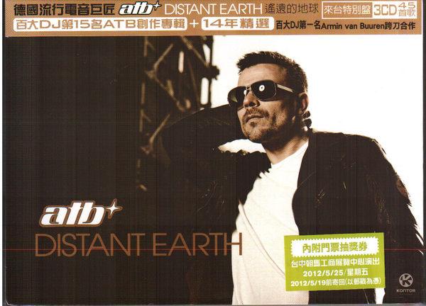 ATB 遙遠的地球+ 14年精選來台特別盤CD 三片裝Distant Earth DJ Far Beyond 混音專輯 (音樂影片購)