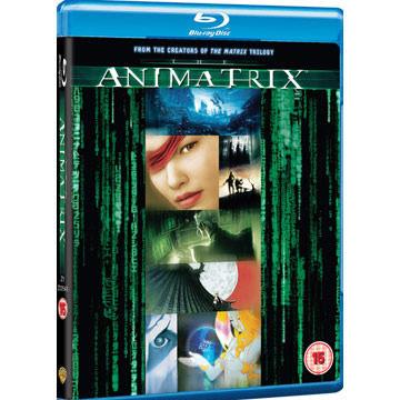 駭客任務立體動畫特集 藍光BD The Matrix Animatrix 捍衛戰警康斯坦汀驅魔神探基努李維 (音樂影片購)