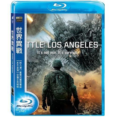 世界異戰 藍光BD Battle Los Angeles 阿凡達蜜雪兒羅莉葛茲黑暗騎士亞倫艾克哈特 (音樂影片購)