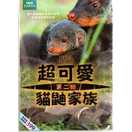 超可愛貓鼬家族DVD (02) Banded Brothers The Mongoose Mob 2 英國BBC系列 (音樂影片購)