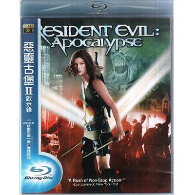 惡靈古堡2啟示錄 藍光BD Resident Evil Apocalypse 第五元素紫光任務蜜拉喬娃維琪
