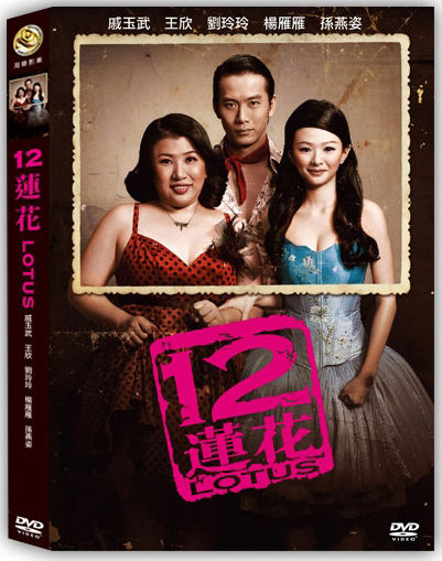 12蓮花 DVD LOTUS 戚玉武 王欣 劉玲玲 楊雁雁 孫燕姿 陳子謙 歌女蓮花 國語發音 (音樂影片購)