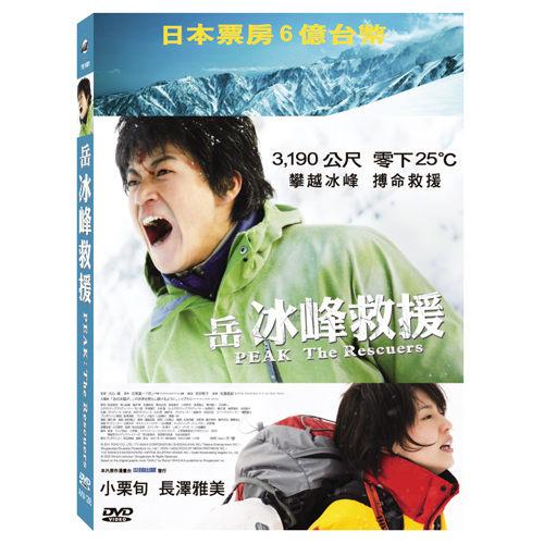 岳:冰峰救援 DVD 小栗旬長澤雅美主演 零下25°C 攀越冰峰博命救援 (音樂影片購)