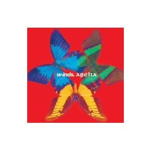 W-inds 彩蝶飛舞ageha專輯通常盤 CD 美麗風采 Pieces 四季 往美夢的地方(音樂影片購)