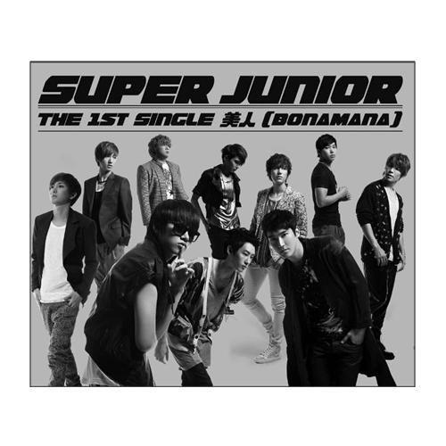 SUPER JUNIOR 美人 BONAMANA 單曲CD Only 普通盤 SJ (音樂影片購)