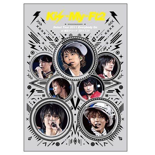 Kis-My-Ft2 2011出道巡迴演唱會 DVD (音樂影片購)