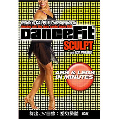 舞出s曲線 塑身纖體 DVD DanceFit Sculpt Abs Legs With Lisa Wheeler 律動暖身 (音樂影片購)