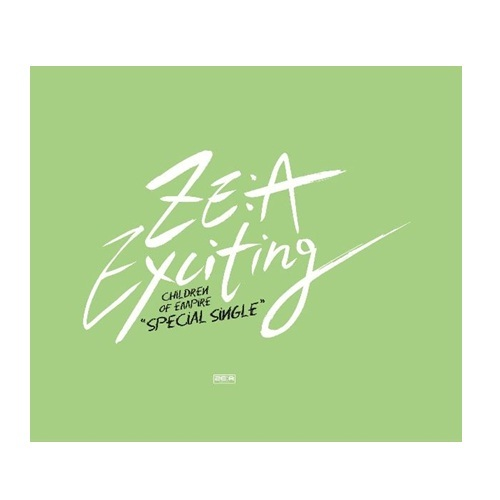 ZE:A帝國之子Exciting 台灣獨占A盤 單曲CD附海報 CD+48頁豪華寫真歌詞冊 (音樂影片購)