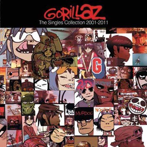 街頭霸王 十年街霸 單曲精選 CD Gorillaz The Singles 2001-2011 (音樂影片購)