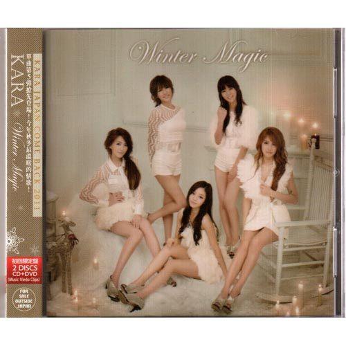 KARA Winter Magic 單曲CD附DVD 初回限定盤 JAPAN COME BACK 2011日本秋冬情歌 (音樂影片購)