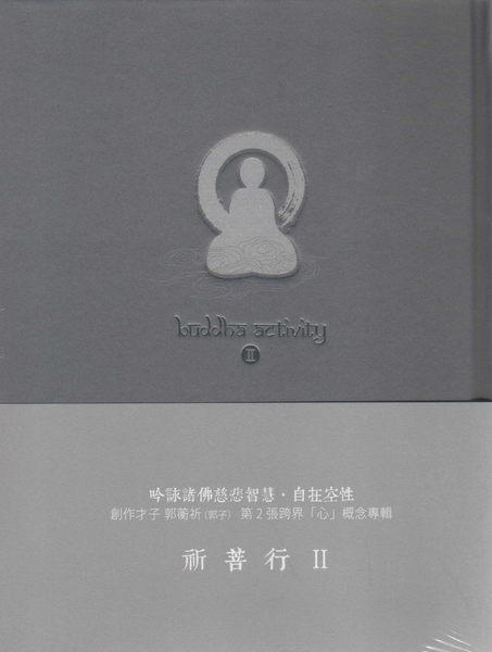 郭蘅祈 祈菩行II CD Buddha Activity II 郭子 庾澄慶 自在 心經 心咒 觀世音菩薩 (音樂影片購)