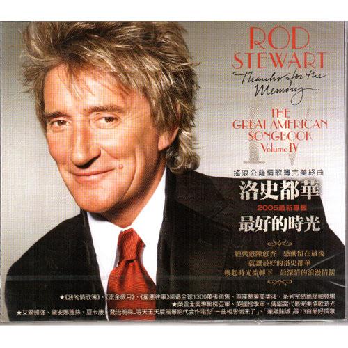 洛史都華 最好的時光 我的情歌簿第四樂章CD Rod Stewart Thanks For The Memory (音樂影片購)
