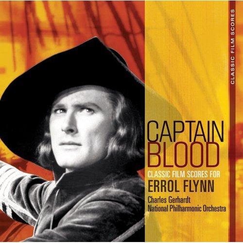 布拉德船長 電影原聲帶CD Captain Blood OST 絕版大碟重新數位錄音處理 經典電影原聲帶(音樂影片購)