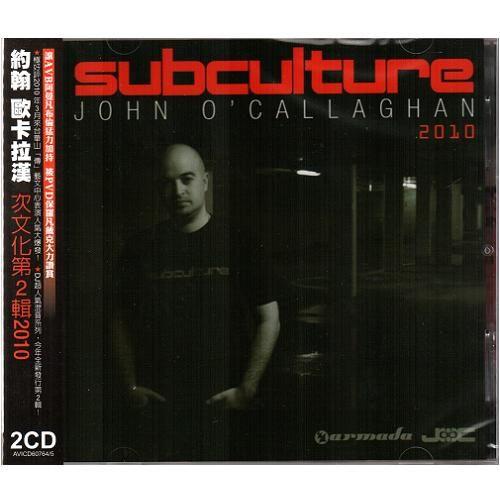 約翰歐卡拉漢 次文化第2輯CD John O' Callaghan Subculture 2010 電音舞曲勸世DJ (音樂影片購)