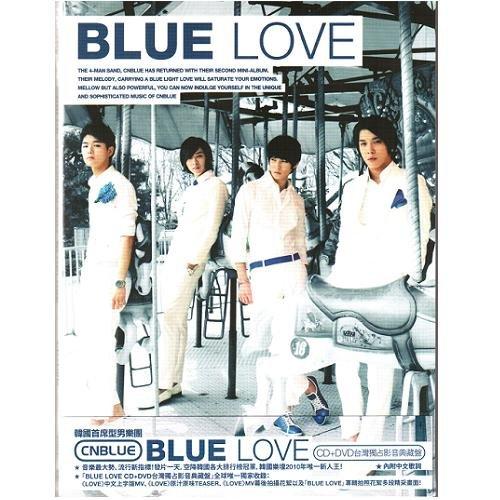 CNBLUE BLUE LOVE 台灣獨占影音典藏盤CD附DVD Code Name Blue 原來是美男鄭容和(音樂影片購)