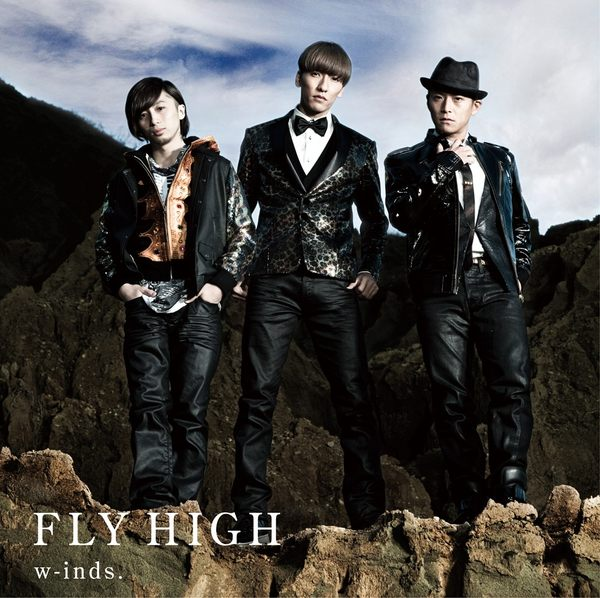 w-inds. FLY HIGH 普通盤CD (音樂影片購)