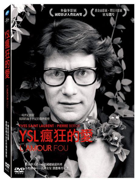 YSL 瘋狂的愛 DVD 法國總統薩科齊 凱撒琳丹尼芙 Yves Saint Laurent Pierre Berg? (音樂影片購)