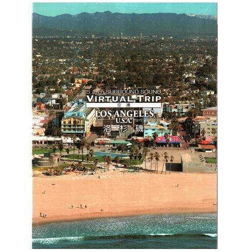 空攝系列 洛杉磯 實境之旅DVD VIRTUAL TRIP LOS ANGELES USA 空攝日景+夜景 實景 (音樂影片購)