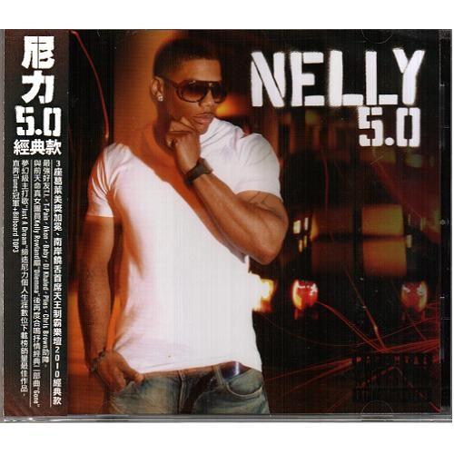尼力 5.0經典款 2010最新專輯CD Nelly 5.0 3座葛萊美獎加冕 南岸饒舌首席天王 (音樂影片購)