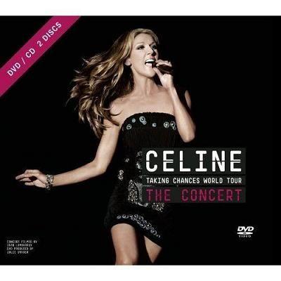 席琳狄翁 為愛冒險世界巡迴演唱會DVD附CD Celine Dion Taking Chances World Tour (音樂影片購)