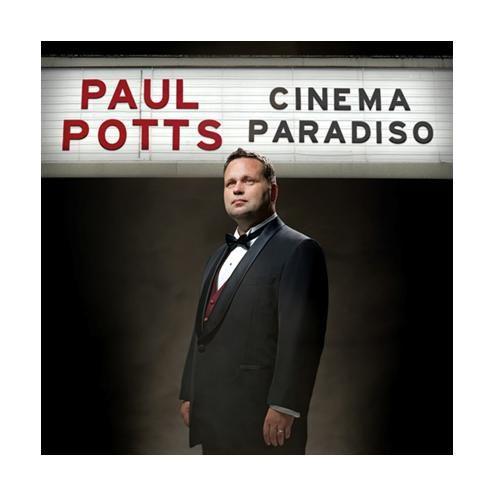 保羅帕茲 天堂電影院 電影名曲精華CD附DVD台灣特別版Paul Potts Cinema Paradiso(音樂影片購)