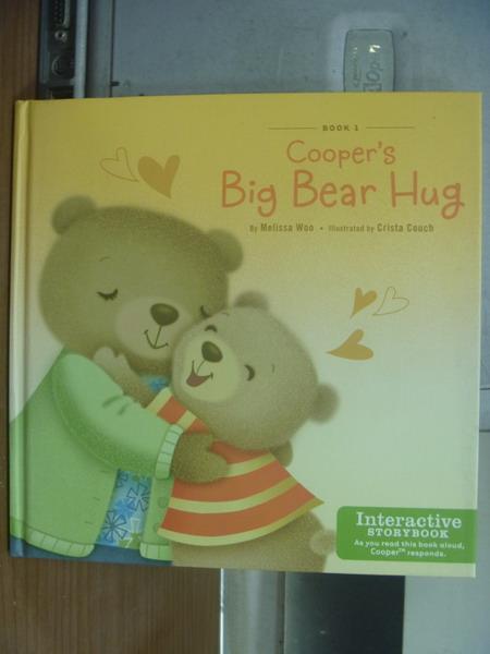 【書寶二手書T1/語言學習_KSR】Cooper's big bear hug_2011