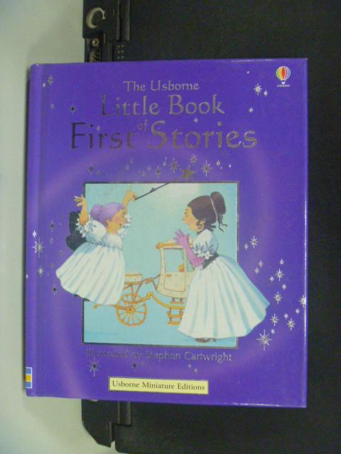 【書寶二手書T2/兒童文學_HGB】The Usborne Little Book of First Stories