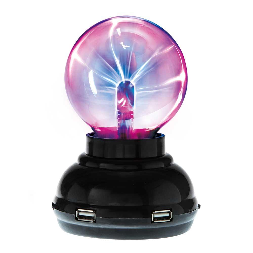 賽先生科學工廠 Plasma 電漿球/靜電球(USB hub功能)
