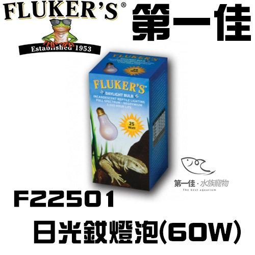 [第一佳 水族寵物] 美國FLUKER`S日光釹燈泡F22501 60W爬蟲類給寵物溫暖的冬天 免運