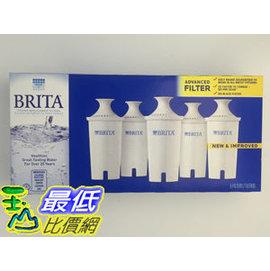 [105新款圓型濾芯現貨] Brita 濾水壺專用圓形濾心/濾芯 (5入/組)
