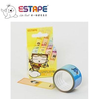 王佳膠帶 ESTAPE 馬克直拉式系列PM2537XCosplay貼/ 盒