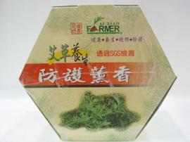 花壇特產~艾草養生防護薰香32卷~五坪室內使用(補充包)