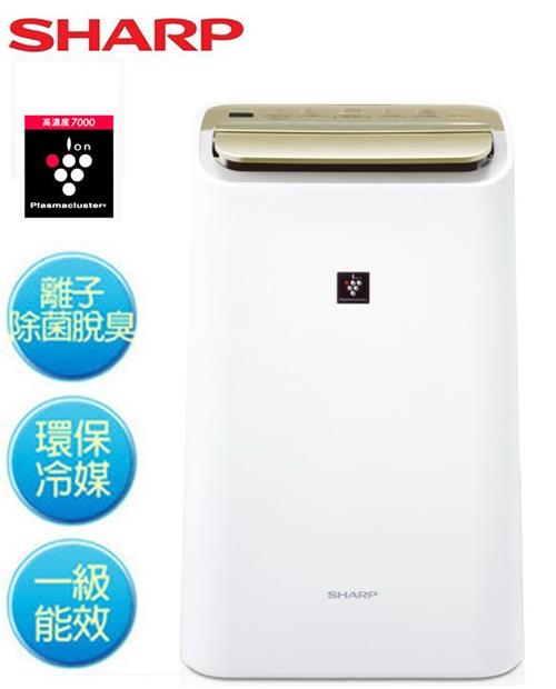 『SHARP夏普』10L自動除菌離子溫濕感應清淨&除濕兩用機 DW-E10FT /DWE10FT **免運費**
