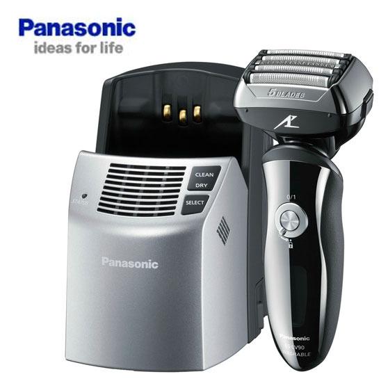 Panasonic 國際牌頂級五刀頭音波水洗電鬍刀 ES-LV90***免運費***
