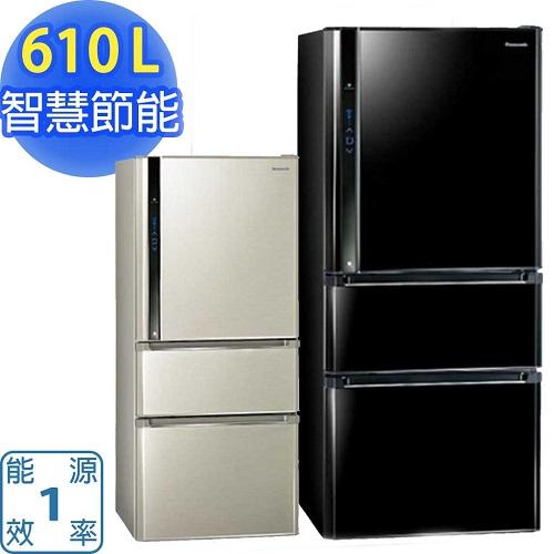 『Panasonic』 ☆ 國際牌 EcoNavi 610L三門變頻冰箱 NR-C618HV  **免費基本安裝**