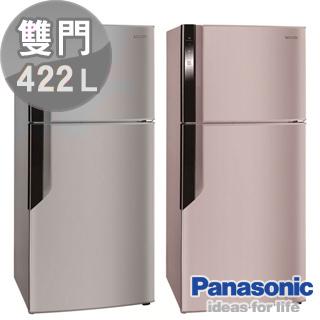 ★分期0利率★Panasonic 國際牌 ECO NAVI 智慧節能422L變頻電冰箱 NR-B426GV ** 免運費 + 拆箱定位 + 舊機回收 **