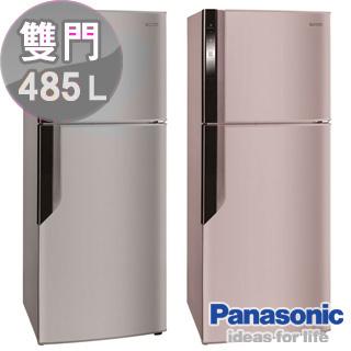 ★分期0利率★Panasonic 國際牌 ECO NAVI 智慧節能485L變頻電冰箱 NR-B486GV ** 免運費 + 拆箱定位 + 舊機回收 **
