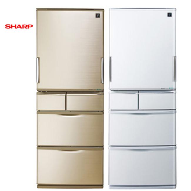 『SHARP』 ☆ 夏寶 日本原裝 440L五門變頻冰箱 SJ-XW44AT ★免費基本安裝★